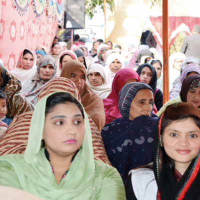 Celebration of the first Patty´s Child Clinic, January 2016: Opening ceremony of the first Pattys Child Clinic in Chillianwala, Pakistan