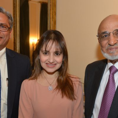 Sindh Delegation in Bavaria, April 2016:  Syed Nadeem Ali Kazmi, CEO Validus Engineering (Pvt) Ltd., Mrs. Kazmi and Saifuddin Zoomkawala, Chairman and Board of Directors Allianz EFU Health Insurance Ltd.