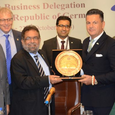 Bavarian Business Delegation to Pakistan, October 2018: Karachi Chamber of Commerce and Industry