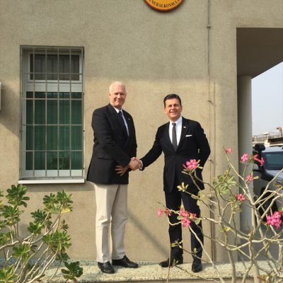 Journey to Pakistan: Consul Dr. Poetis with Rainer Schmiedchen, Consul General of the Federal Republic of Germany in Karachi – January 2016
