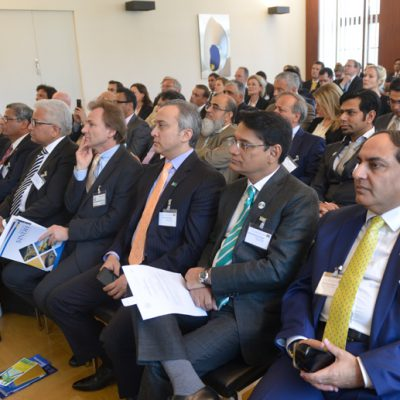 Sindh Delegation in Bavaria, April 2016:  More than 90 participants joined the Bavarian-Pakistan conference at the Bavarian Ministry of Economic Aff airs and Media, Energy and Technology on April 22nd 2016.