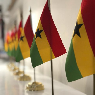 Munich Members Salon Vol. 2, November 2018: Ghana Flag