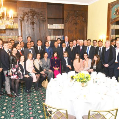 Sindh Delegation in Bavaria, April 2016:  Group photo of the participants at the evening reception hosted by the Sindh Board of Investment and the Honorary Consulate of the Islamic Republic of Pakistan for Bavaria and Baden-Wuerttemberg on 21st April 2016