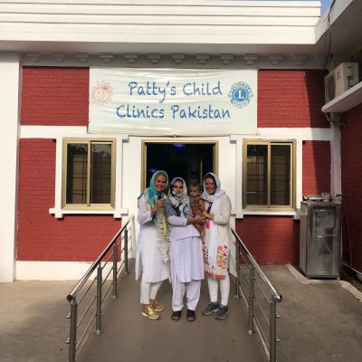 Impressions from Patty´s Child Clinic, Chillianwala, April 2019